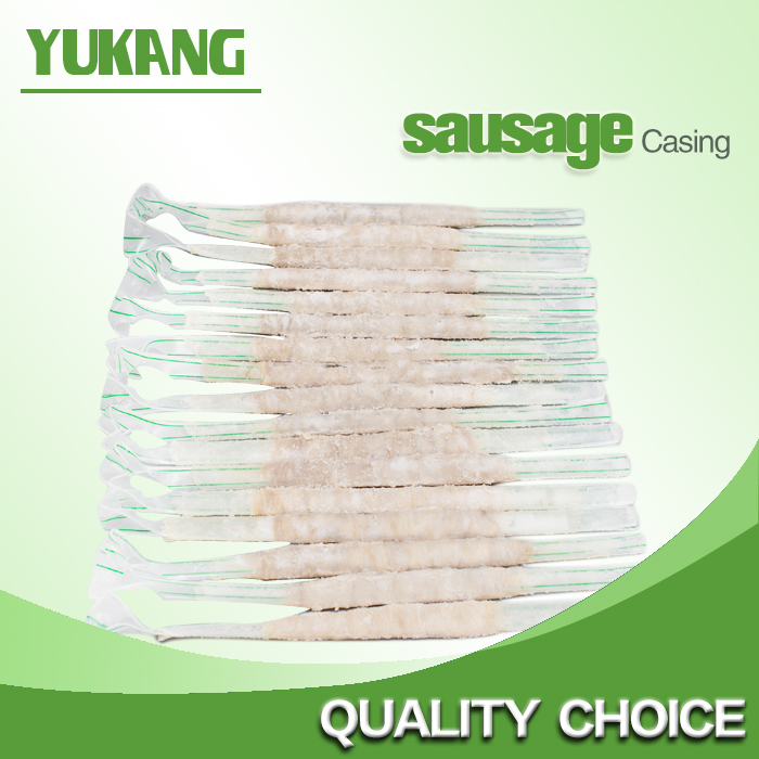 High popular and the lowest price salted sheep casing/halal sausage casing