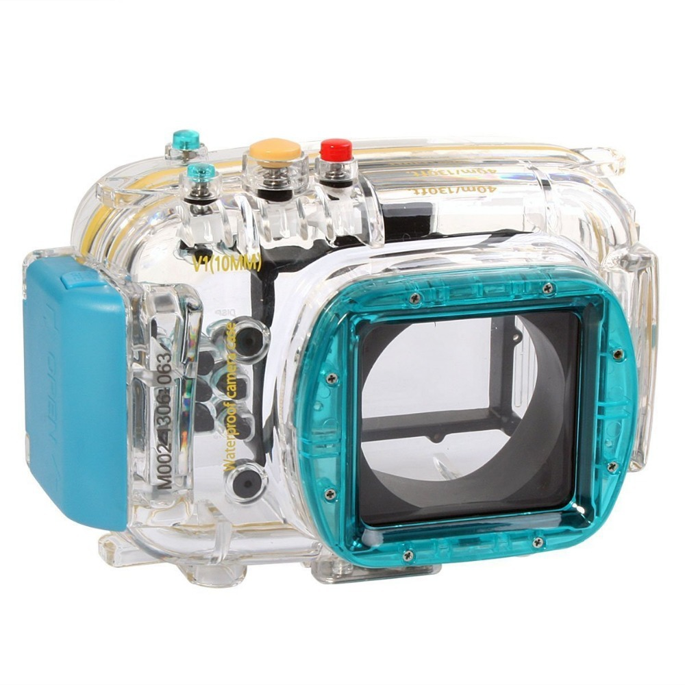 40m 130ft Diving Camera Waterproof Underwater Housing Bag Case for Nikon V1 10mm Lens Camera