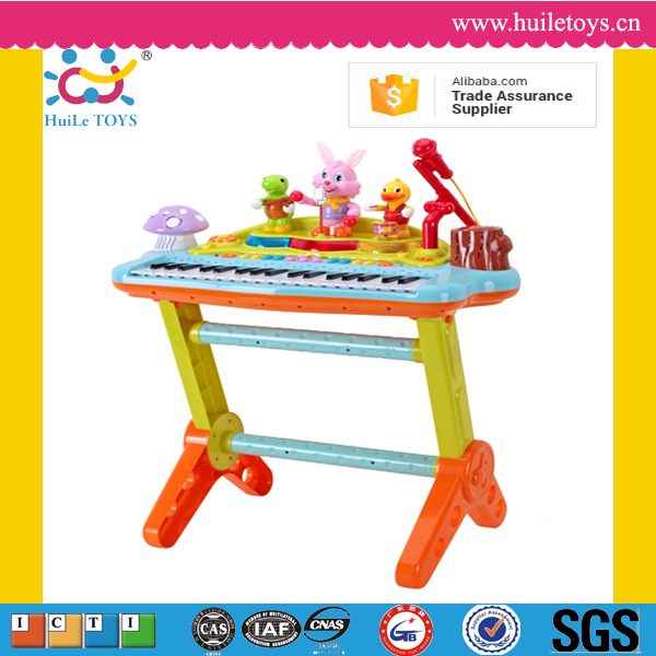 High quality huile toys plastic wholesale musical instruments keyboard with ASTM