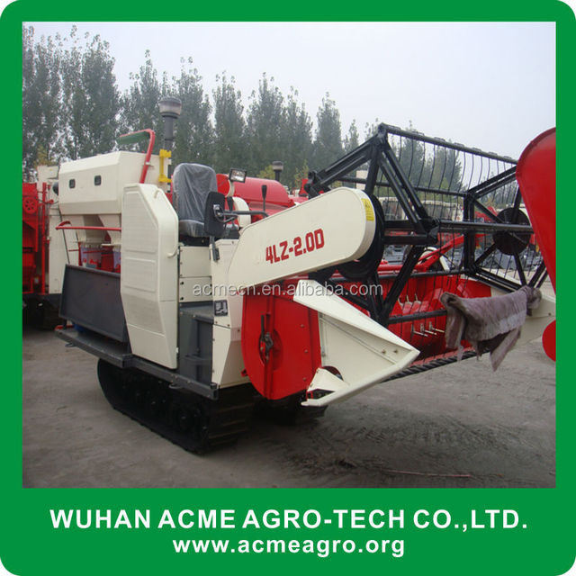 4LZ-2.0D Agricultural Machinery Combine Harvester (skype/wechat: sherlley88, whatsapp: 008618971112939)