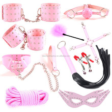 High quality PU leather bondage sex toys bondage restraints body sm male sex toy bondage restraints sm