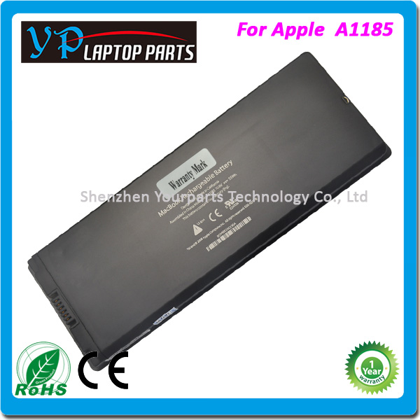 Best quality li-on battery replacement for macbook pro 17 A1189 battery black MSDS laptop battery