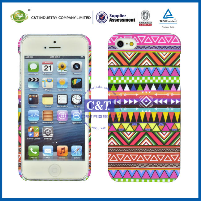 C&T Fashion design hard skin for iphone 5s,cover case for iphone 5s