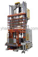 Vertical shrinkless expander/hydraulic tube expander