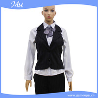 Fashionable Modern Design Hotel Receptionist Uniforms
