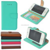 Pure Color Smooth Leather Covers Case for IPhone 4s