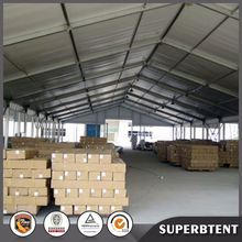 Large temporary warehouse tent industrial storage tents