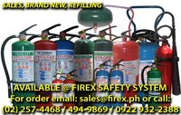 REFILLING OF FIRE EXTINGUISHER (ALL KIND, ALL BRAND)