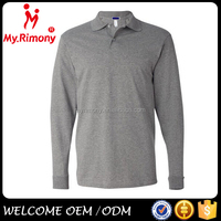 man 50% cotton and 50% polyester brand polo t shirts
