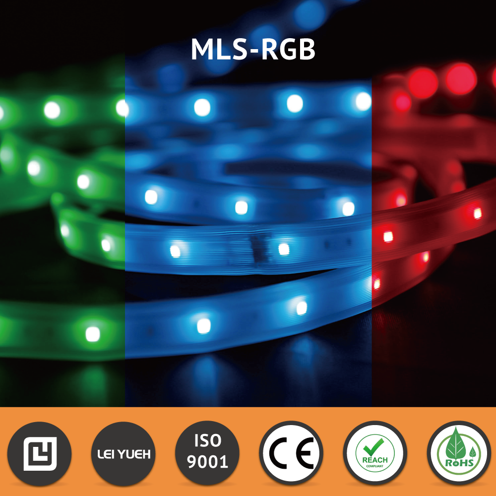 Top Quality Dimmable Flexible Osram LED2835 24V IP67 LED RGB Strip Light