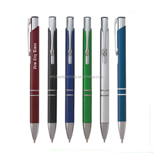 Promotional gifts office metal ball point pen wholesale