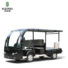 Dual purpose electric personal transport utility vehicle pickup truck