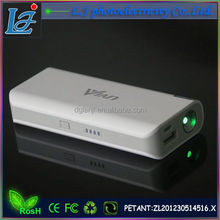 Power Bank 5200mAh capacity Laser Pointers new function fashion appearance