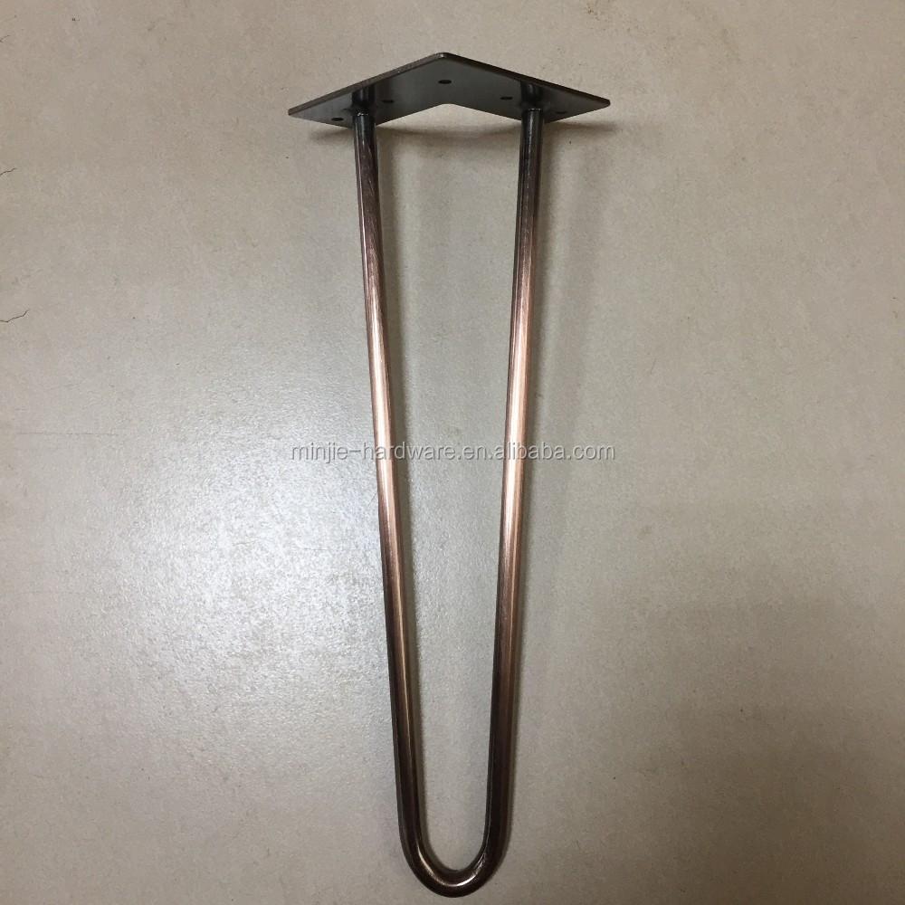 Заказ металлических бронзовая заколка для журнальный столик ноги
