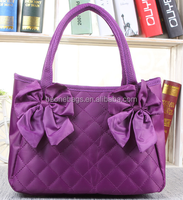 HOT Foldable bag ,waterproof beach bag,nylon foldable shopping bag Purple shopping bag