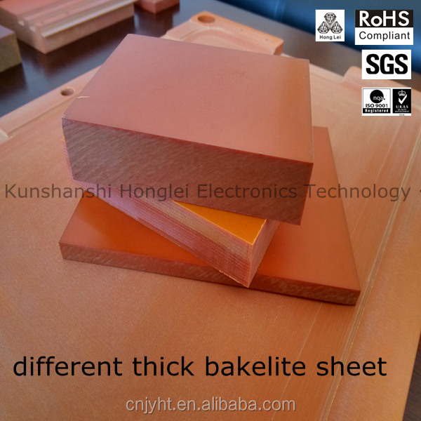 orange electrical insulating board China phenolic paper laminates manufacturer