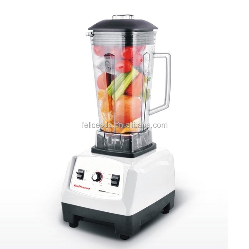 1500W 2HP High Performance Food Blender With BPA-free Copolyester Container