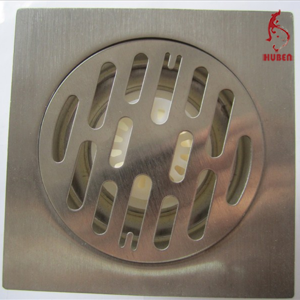 China Sanitary Ware stainless steel square Floor Drain Manufacturer