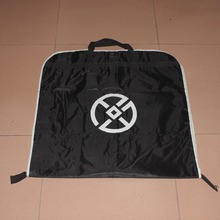 Black Best carry on garment bag for travel suit with zipper around