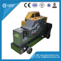 Reinforced steel bar cutting machine with extra heavy blade