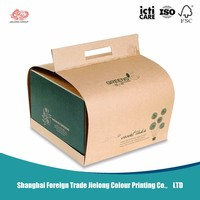Board Foil Paper Cake Slice Packaging Boxes
