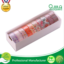 Japanese Paper Washi Tape Flower Decorative Stationery , Stickers Adhesive Tape