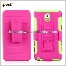 robot case for galaxy note 3 pc silicon for samsung galaxy note3
