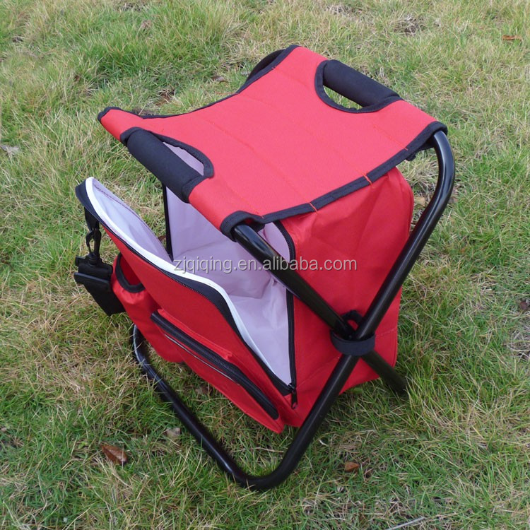 Cooler stool with bag and shoulder belt JF-21-13