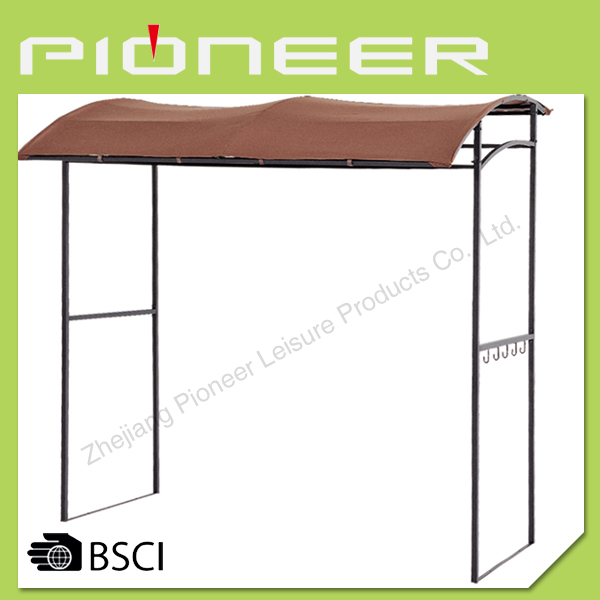 BBQ gazebo with bar