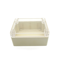 "53*85*144mm / 2.09*3.35*4.49"" Clear Cover ABS IP65 Waterproof Enclosure Project Enclosure Box"
