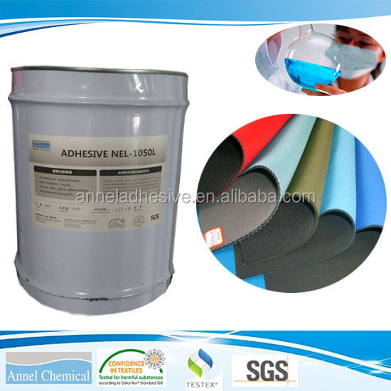 NEL-1050L Glue fabric, Bond without heating PU adhesive and cold lamination