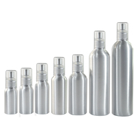 High quality essential oil 30ml 50ml 60ml 100ml 150ml 250ml 300ml aluminum cosmetic spray bottle with cap