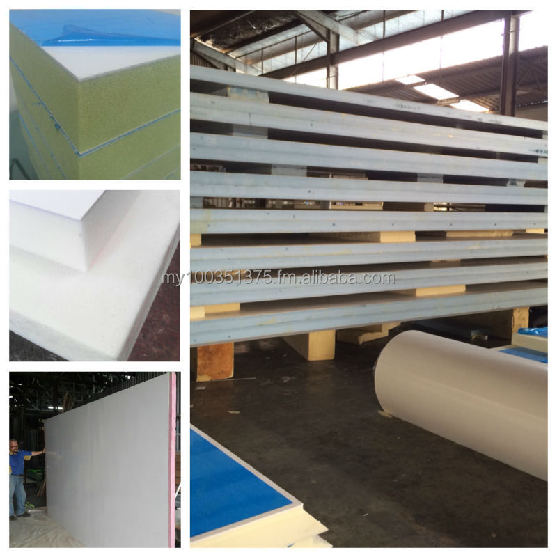 Extruded Polystrene Foam Sandwich Panel for refrigerated truck bodies