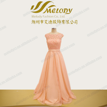 Pink color cheap price bohemian style mother of the bride dress