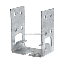 Fence Base Post Metal Anchors for Timber frame houses