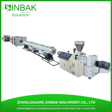 SINBAK low price 150mm pvc pipe production line with pipe cutter