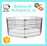 Foldable Exercise Pet Kennel Durable Puppy Cat Fence Metal Dog Playpen