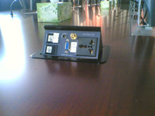 power outlet for conference table
