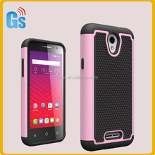 Football Grain Combo Shockproof Phone Case For Alcatel One Touch Elevate 5017E 5017 Back Cover
