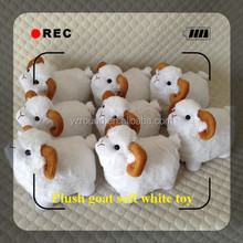 Promotional white goat plush sheep soft toy