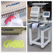 FUWEI embroidery machine price one head embroidery machinery