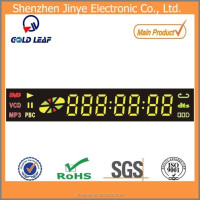 hot sales dvd/vcd led player display,7 segment digit vcd player digital mp3 player