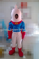 spiderman costume/spiderman fur mascot costume