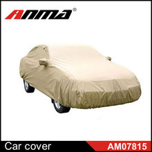 Universal rain protective 170t polyester car cover