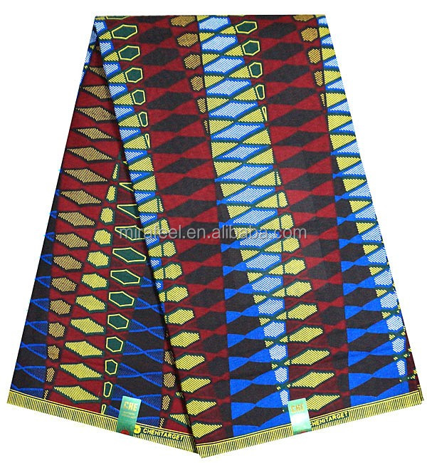 african veritable real wax fabric print