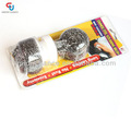 2PCS Kitchen Stainless Steel Cleaning Ball With Handle