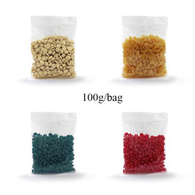 Wholesale 5 flavors peel off hair removal depilatory wax beans without strip 100g