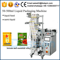 Automatic essential oil sachet fillng packing machine