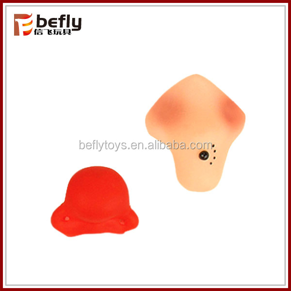 Decorative fake toy halloween witch nose