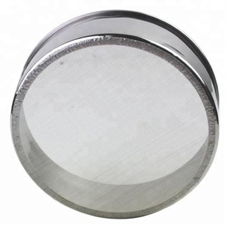45 50 60 80 100 180 micron stainless steel laboratory test mesh sieve